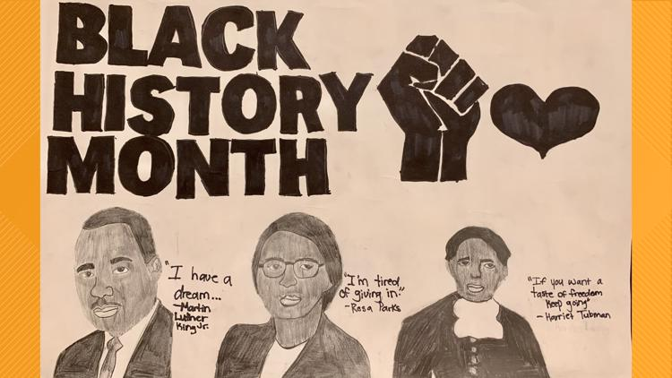 Poster contest shows meaning of Black history to Indianola students