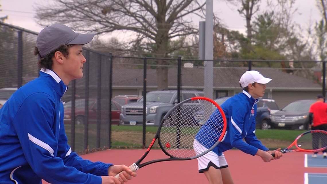 Marshalltown High Tennis team's Strand Brothers chasing big goals for Bobcats