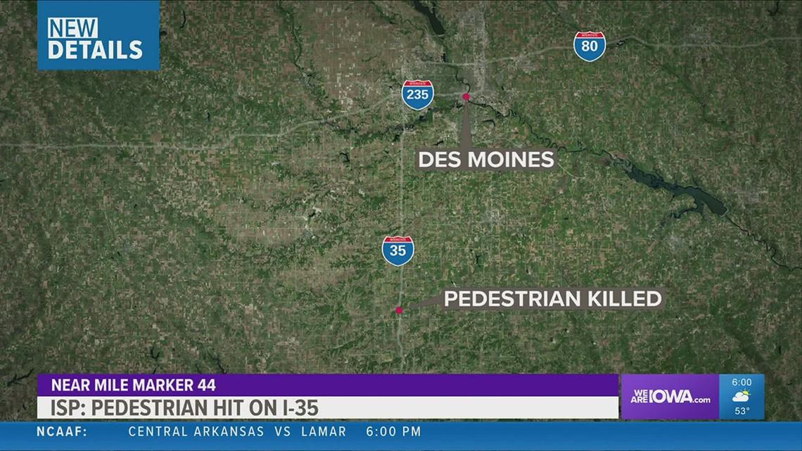 Pedestrian killed on I-35 identified, crash details revealed