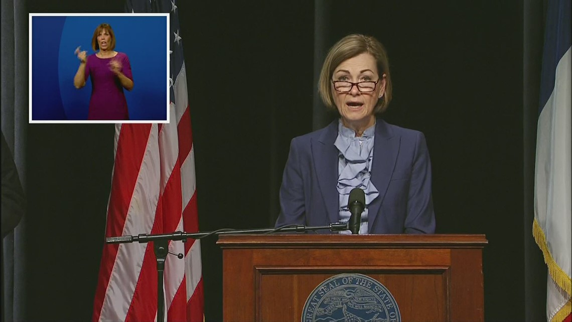 Gov. Reynolds COVID press conference: 'Every one of the vaccines, they are safe and effective'