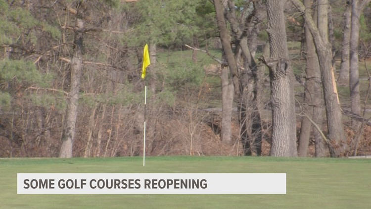 Homewood Golf Course opens just in time for warmer temps
