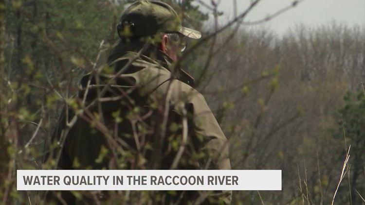Efforts being made to improve water quality of Raccoon River