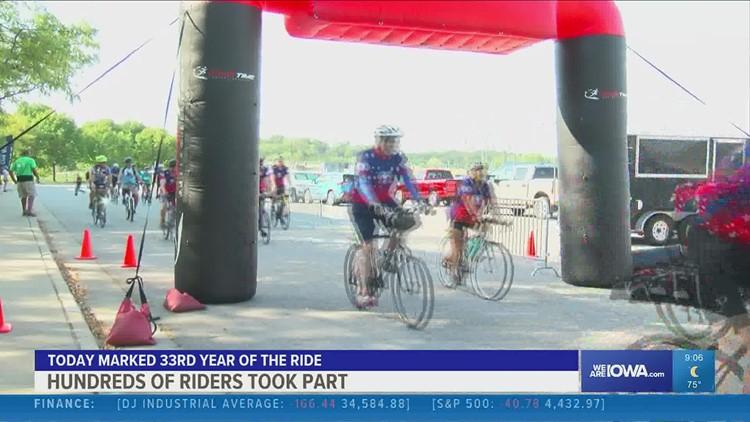 Mayor's annual bike ride raises money for Des Moines trails