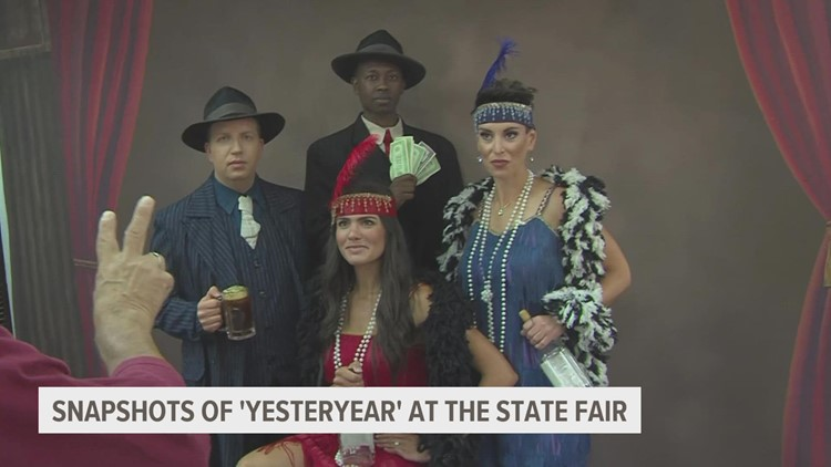 Local 5's Good Morning Iowa team travels back in time at the Iowa State Fair