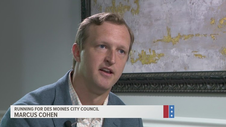 Meet the candidate: Marcus Coenen running for Des Moines City Council