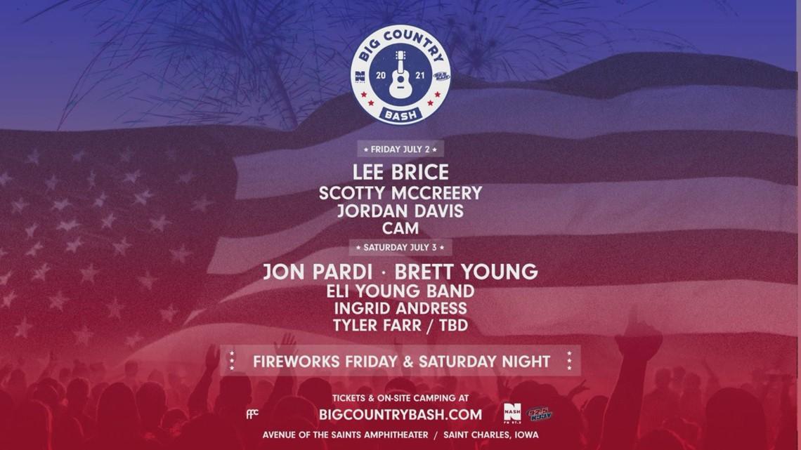 Big Country Bash announces summer festival lineup
