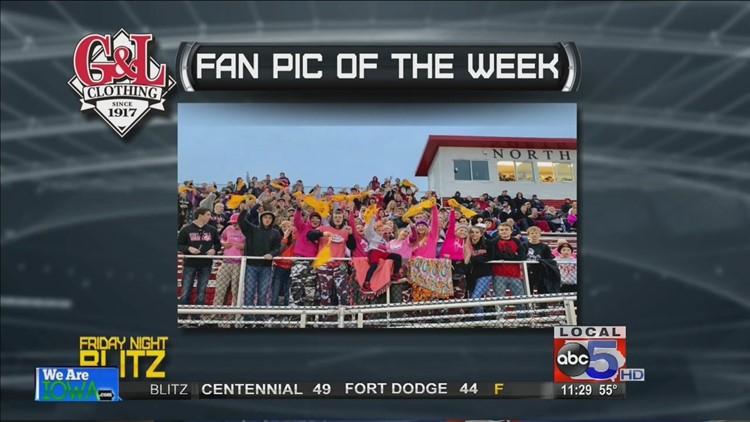 G&L Clothing Fan Pic of the Week: North Polk student section