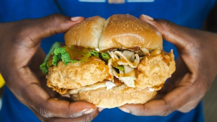 Johnston entrepreneur opens fast food restaurant during pandemic, cooking up chicken sandwiches inspired by his grandmother