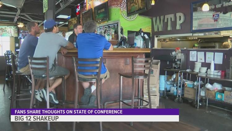 Iowa State fans react to Big 12 breakup