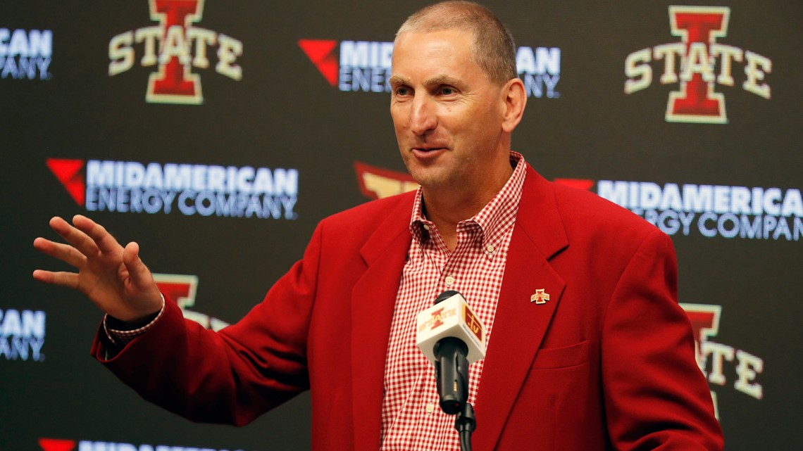 Iowa State AD Jamie Pollard gets extension through 2026