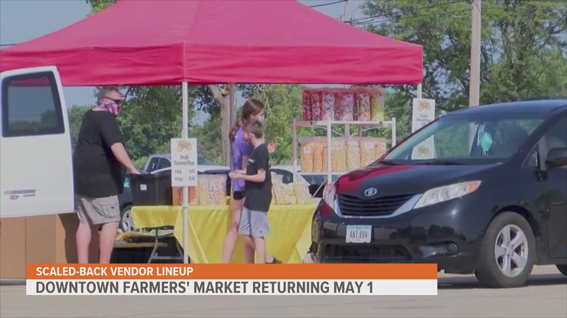 Downtown Farmers' Market to return in 2021 with scaled-back vendor lineup