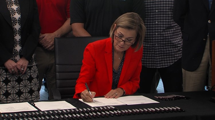 'Back the Blue' bill now law following Gov. Reynolds' signature