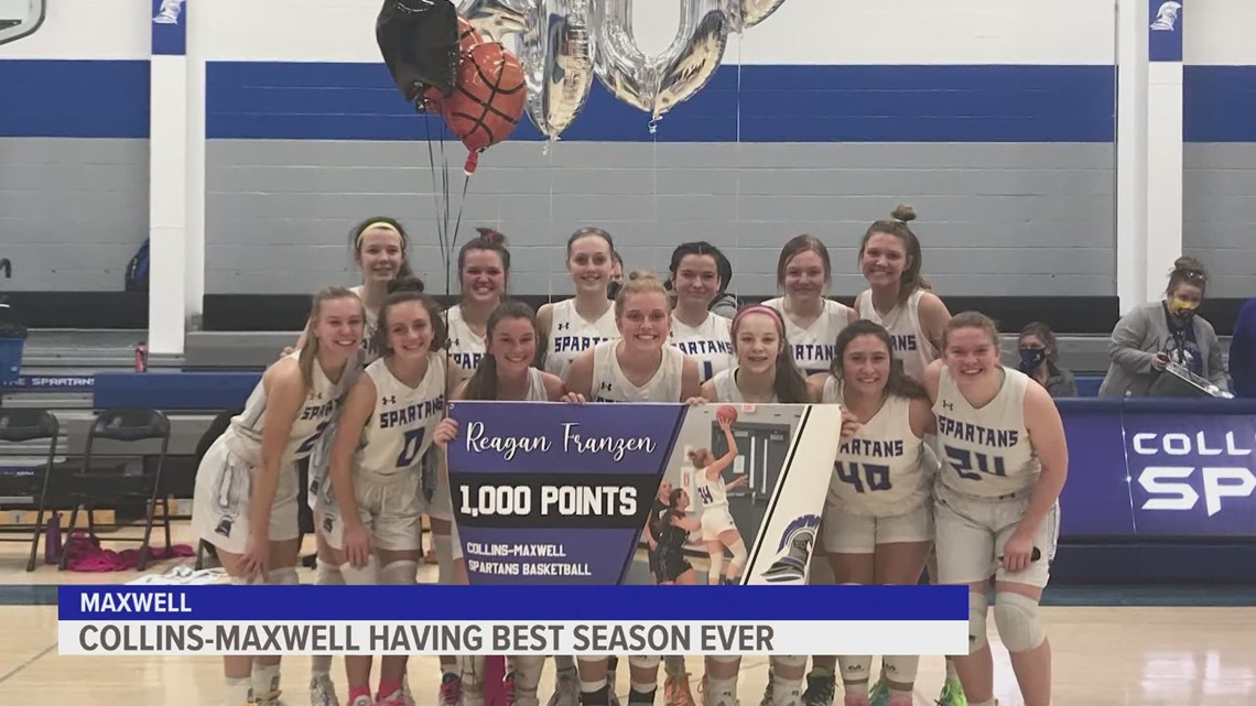 Collins-Maxwell basketball player breaking records, leading team in historic season