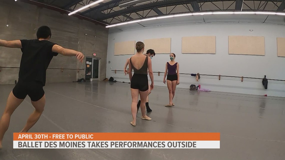 Ballet Des Moines prepares for first ever summer season