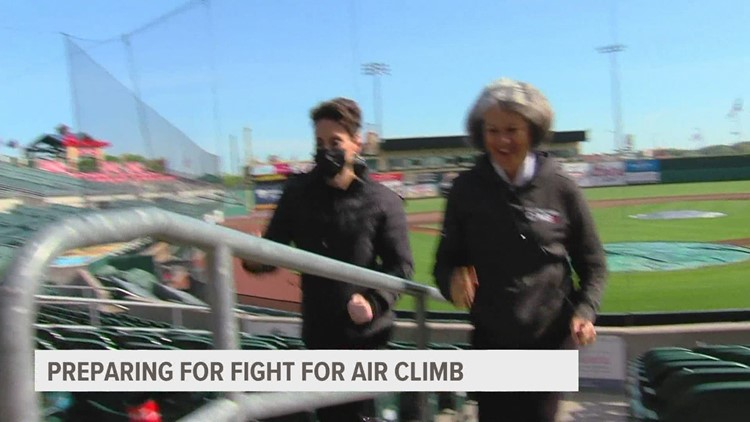 American Lung Association prepares for 2021 Fight for Air Climb
