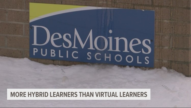 DMPS resumes hybrid learning after going virtual in November