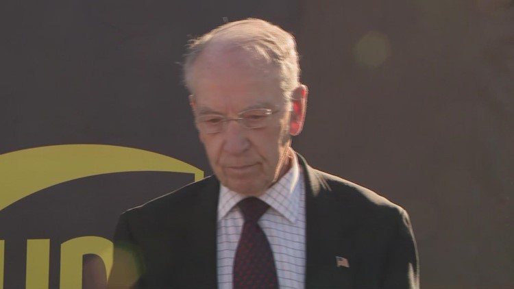 Sen. Chuck Grassley on John Deere strike: 'I don't have anything to say about it because I don't know the issues that are at stake'