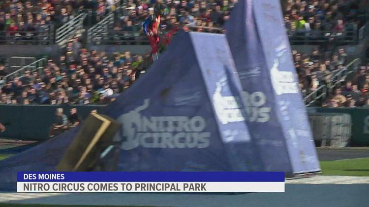 Nitro Circus brings pro action-sports athletes to Principal Park