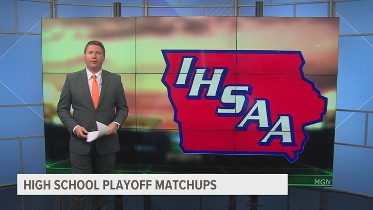 Iowa high school football playoff matchups announced