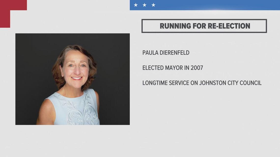 Johnston Mayor Paula Dierenfeld announces re-election campaign