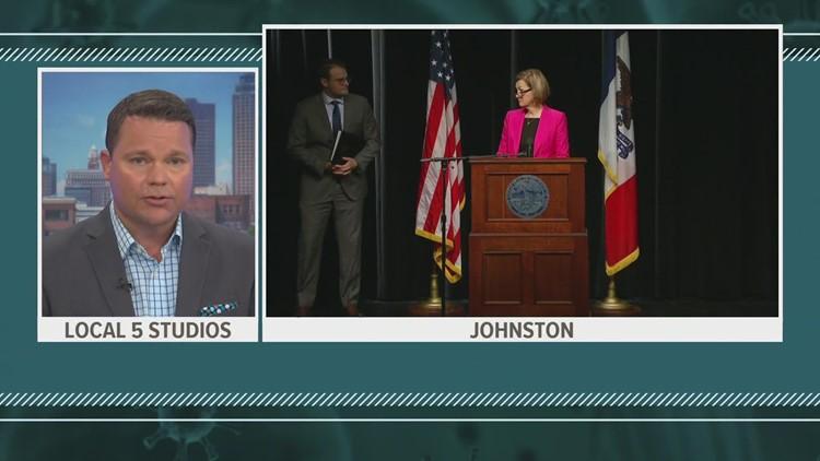 Gov. Kim Reynolds COVID-19 press conference (May 5, 2021)