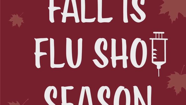 Here's what a drive-thru flu shot looks like