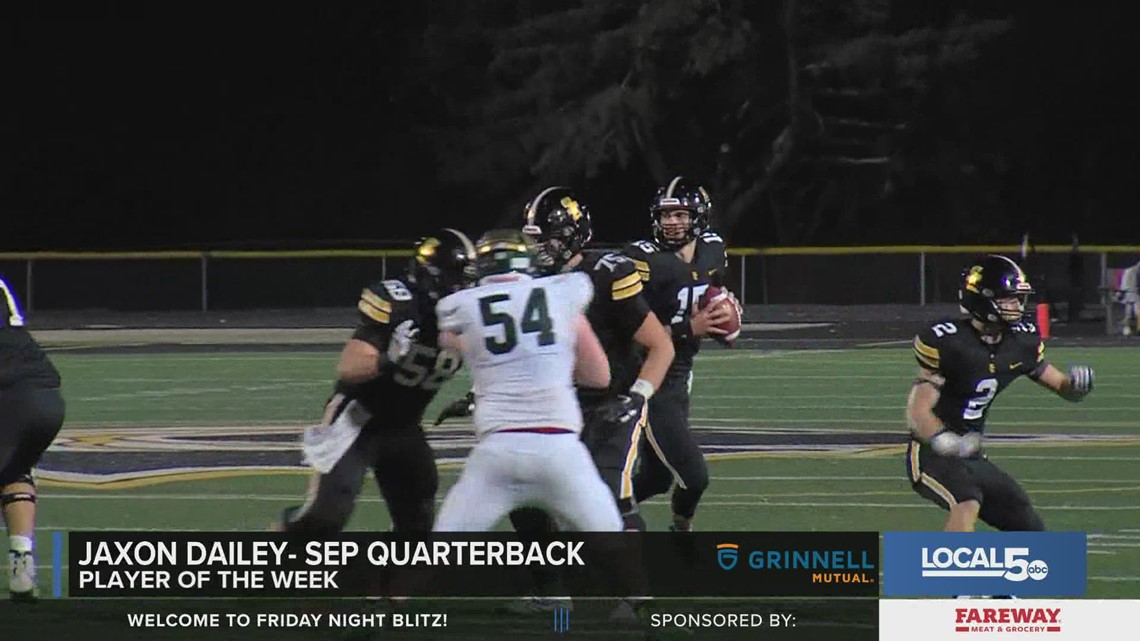 Grinnell Mutual Player of the Week: Jaxon Dailey, Southeast Polk