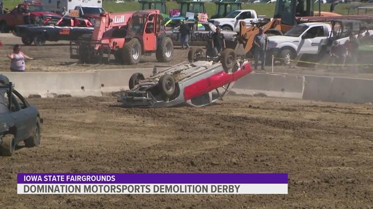 Domination Motorsports Demolition Derby returns to Iowa State Fair