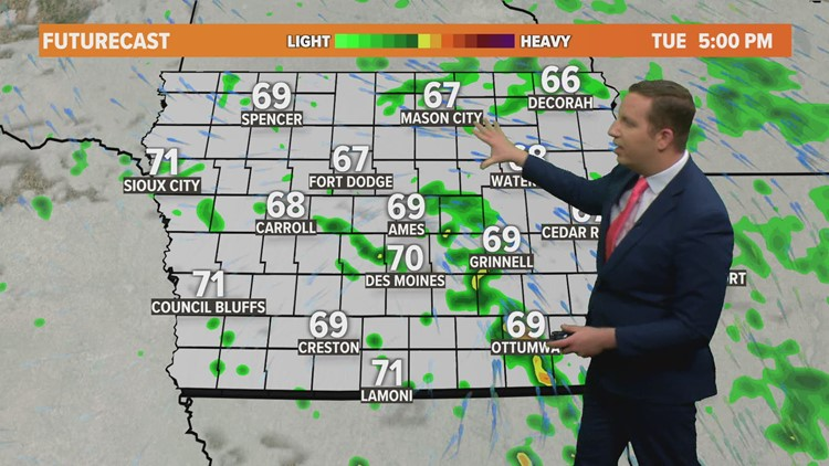Midday Weather Update: May 17, 2021
