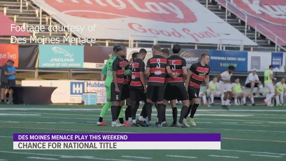 Des Moines Menace to face off against North Carolina Fusion U23 on home turf