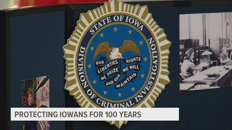 Iowa Division of Criminal Investigation celebrates 100th anniversary