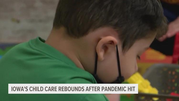 Iowa families still struggling to find child care