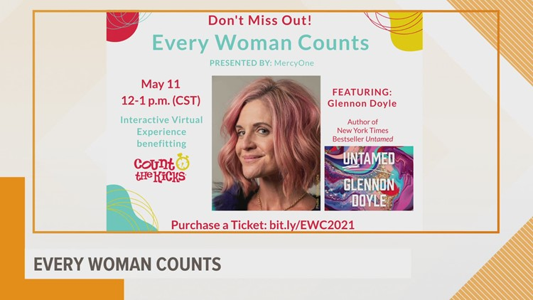 Count the Kicks hosting 2021 fundraiser titled 'Every Woman Counts'