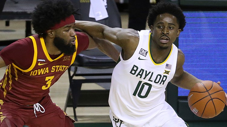 No. 2 Baylor returns with 77-72 win over Iowa State to stay undefeated