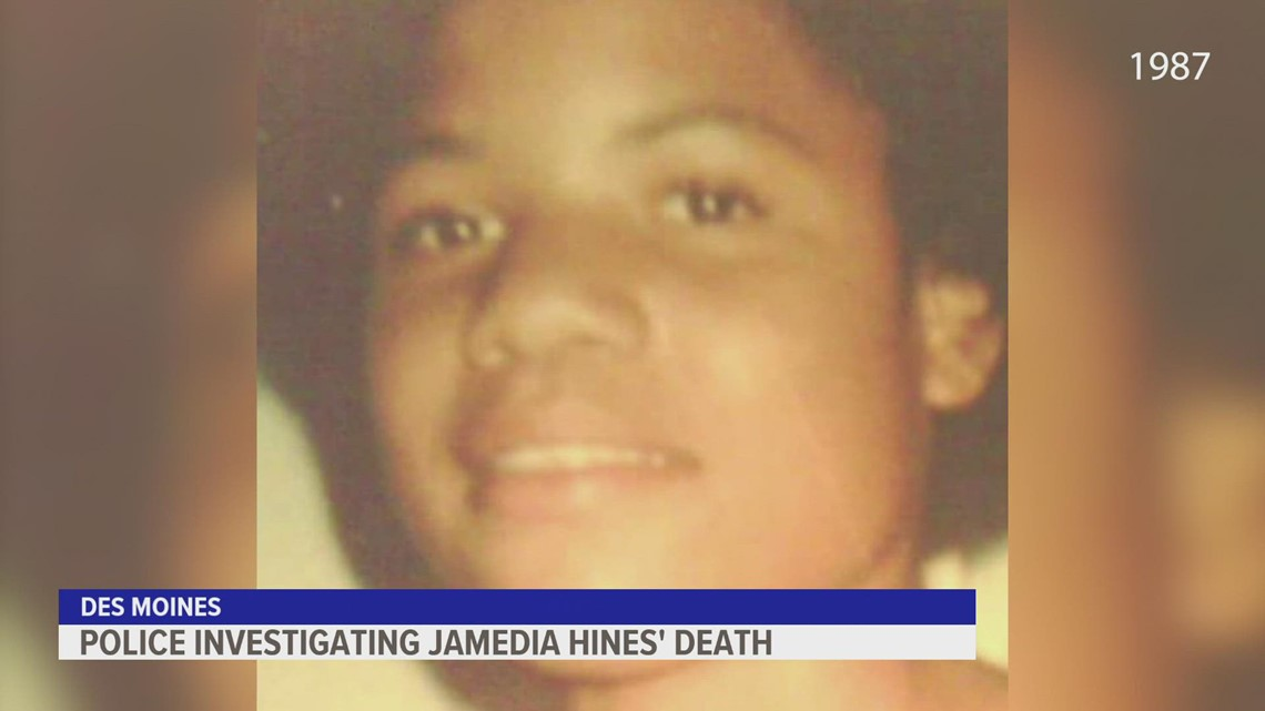 Des Moines police find new lead in Jamedia Hines cold case