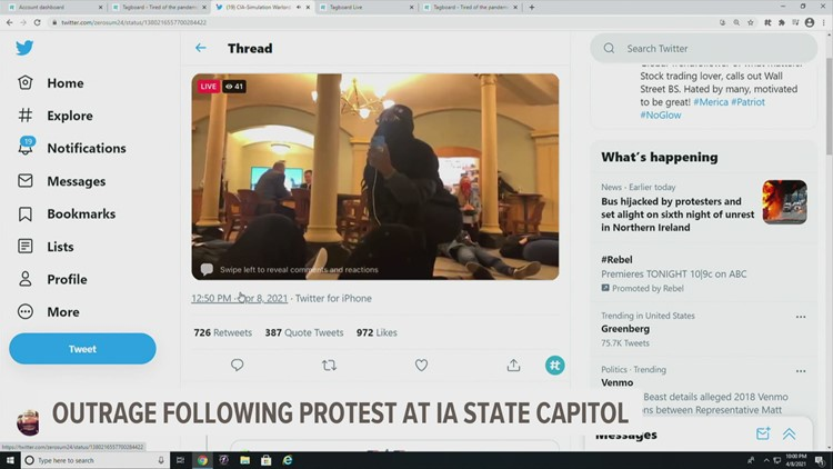 Troopers arrest, charge teen BLM activist with assault following Capitol protest