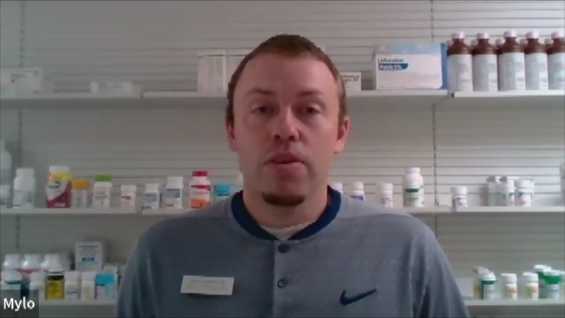 Rural Iowa pharmacist says there's real vaccine hesitancy among 20-50-year-olds