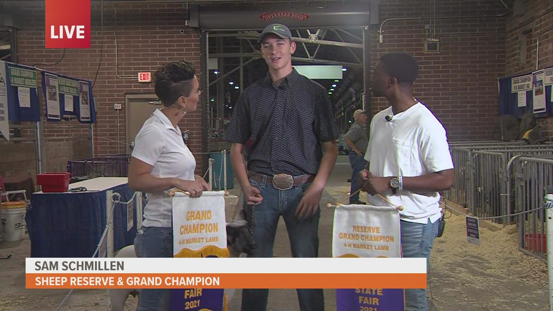 Sam Schmillen brings home not one, but two, notable awards at Iowa State Fair