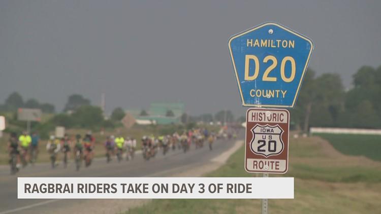 RAGBRAI 2021, Day 3: Fort Dodge to Iowa Falls