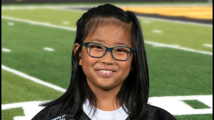 8-year-old Urbandale girl ready for Kid Captain duties at 2021 Cy-Hawk game