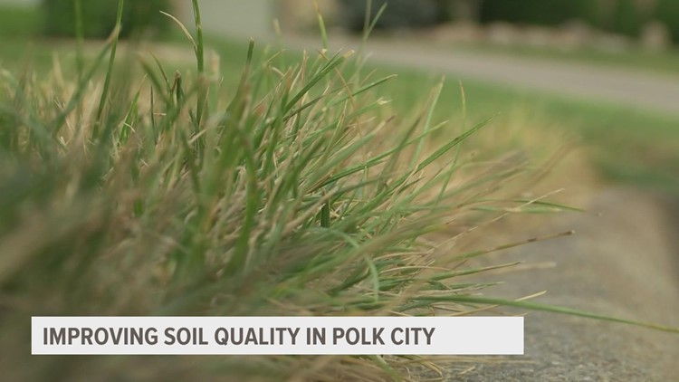 Polk City takes new approach to helping homeowners improve soil quality
