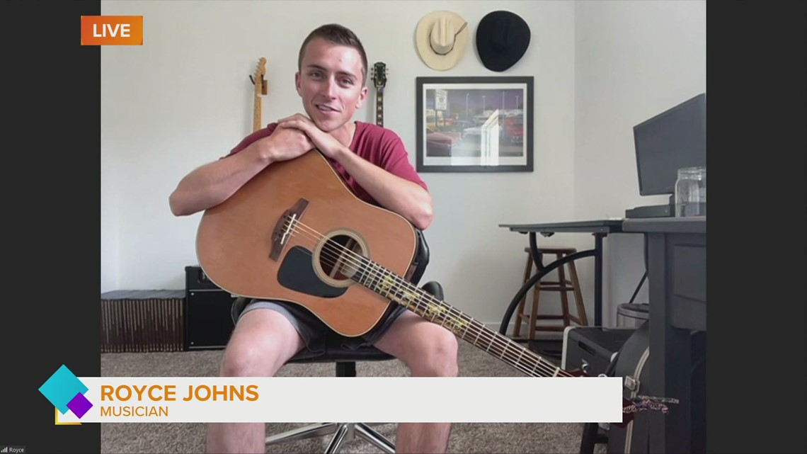 Catching up with musician Royce Johns