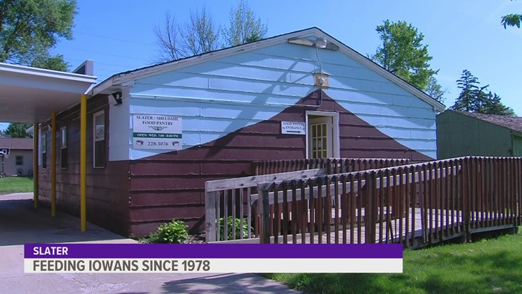 Slater-based food bank has served community for 40 years