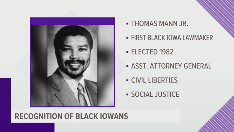 Celebrating Black Iowans: Thomas Mann Jr.