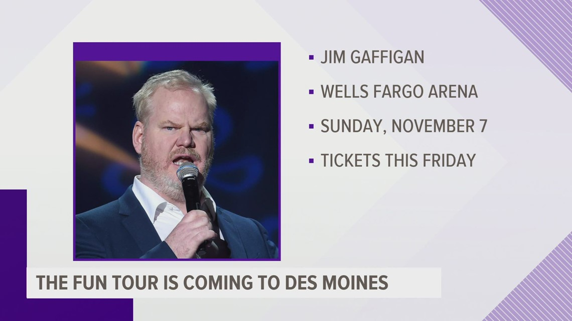 Jim Gaffigan stopping in Des Moines for 'The Fun Tour'