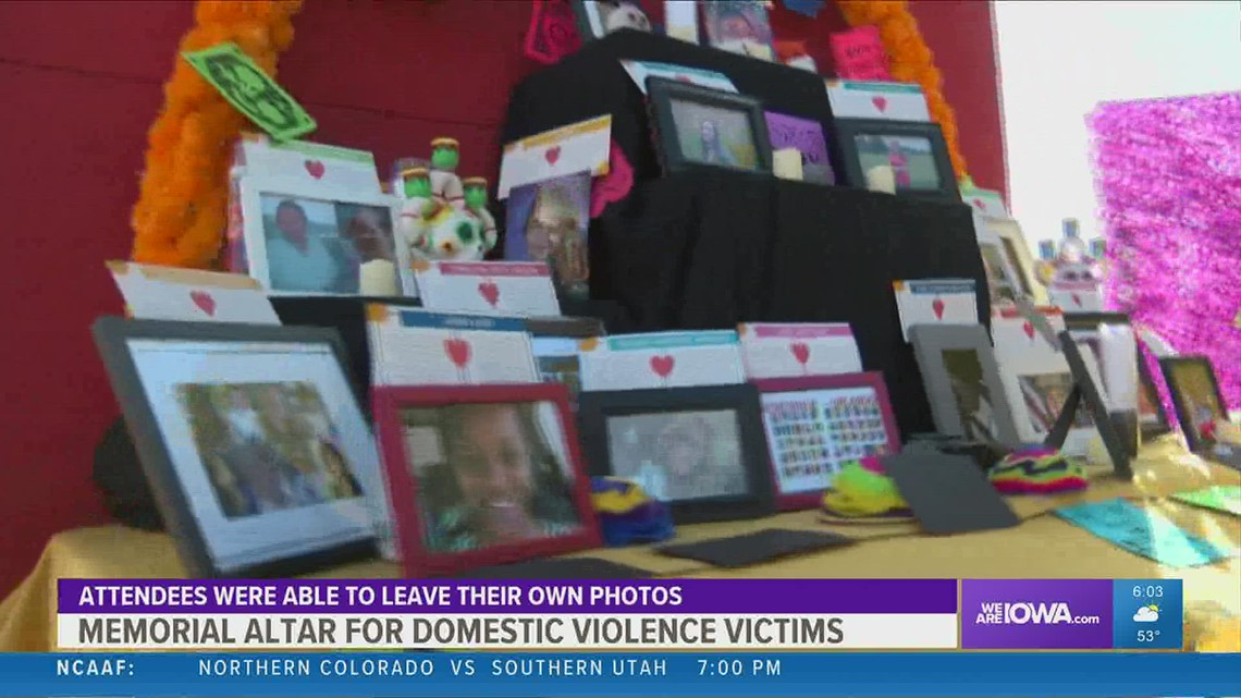 Domestic violence victims honored with Dia de los Muertos tribute