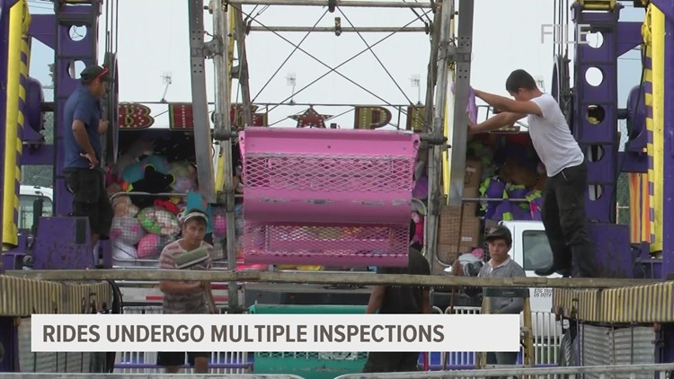Private inspector helps ensure Iowa State Fair rides stay safe