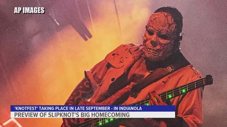 Slipknot returns to Iowa this September for Knotfest 2021