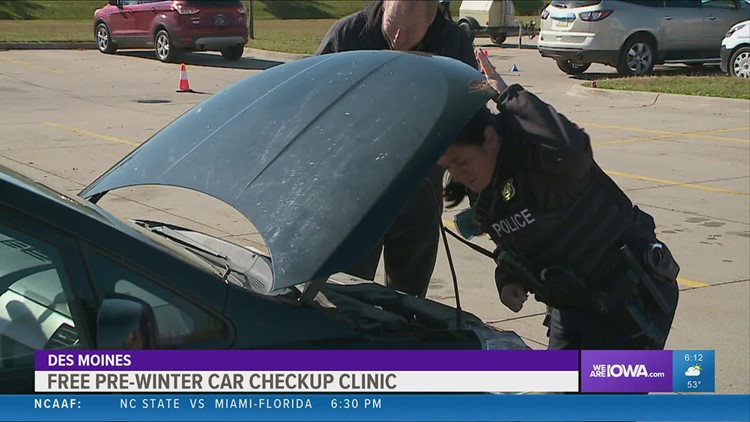Urban dreams partners with DMPD to prepare Iowans for winter with a free car check-up clinic