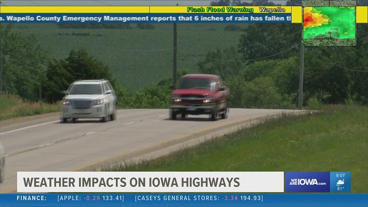Summer heat can bring dangerous conditions to Iowa's highways